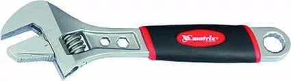 Ключ Matrix 15516 (0 - 20 мм) разводной ключ 300 мм matrix 15507