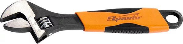 Ключ Sparta 15541 (0 - 20 мм) разводной ключ 300 мм хромированный sparta 155355