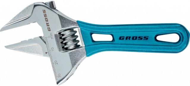 Ключ Gross 15564 (0 - 15 мм) степлер мебельный gross 41005