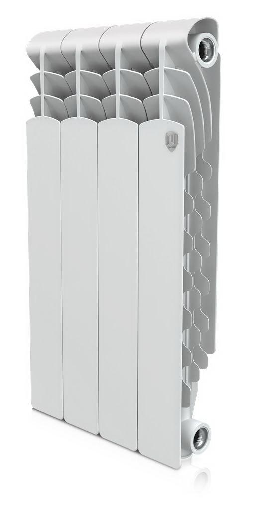Радиатор алюминиевый Royal thermo Revolution 500х80 НС-1054825 алюминиевый радиатор royal thermo revolution 500 4 секции