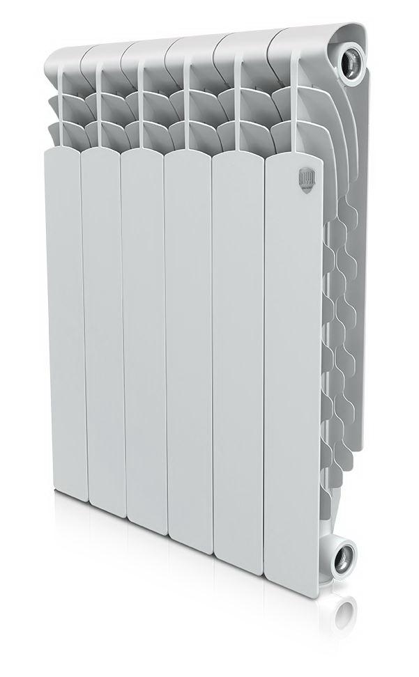 Радиатор алюминиевый Royal thermo Revolution 500х80 НС-1054823 алюминиевый радиатор royal thermo revolution 500 4 секции