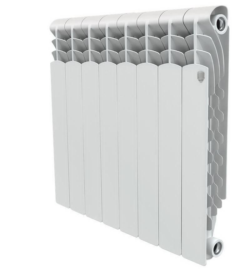 Радиатор алюминиевый Royal thermo Revolution 500х80 НС-1054822 алюминиевый радиатор royal thermo revolution 500 4 секции