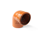 Отвод ПОЛИТРОН 110х87 SVK-KN3011087(наружный)