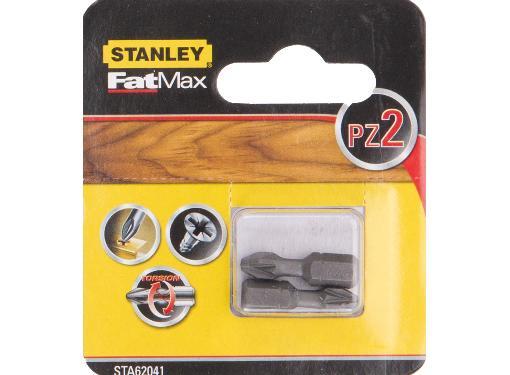 Бита STANLEY PZ2 25мм (STA62041-XJ) FatMax