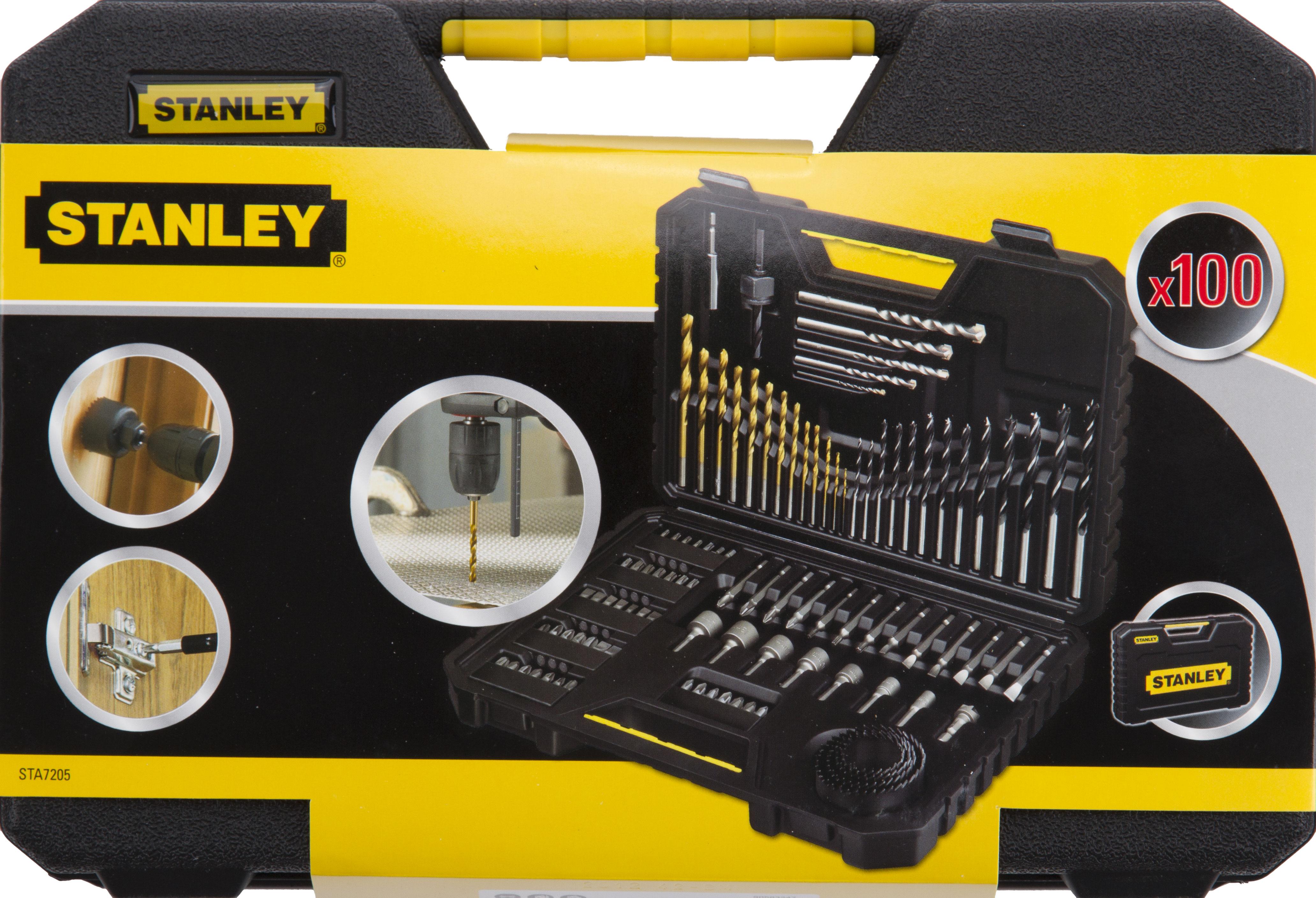 Набор Stanley Sta7205-xj бита stanley sta61021 xj ph2х25мм 2 шт