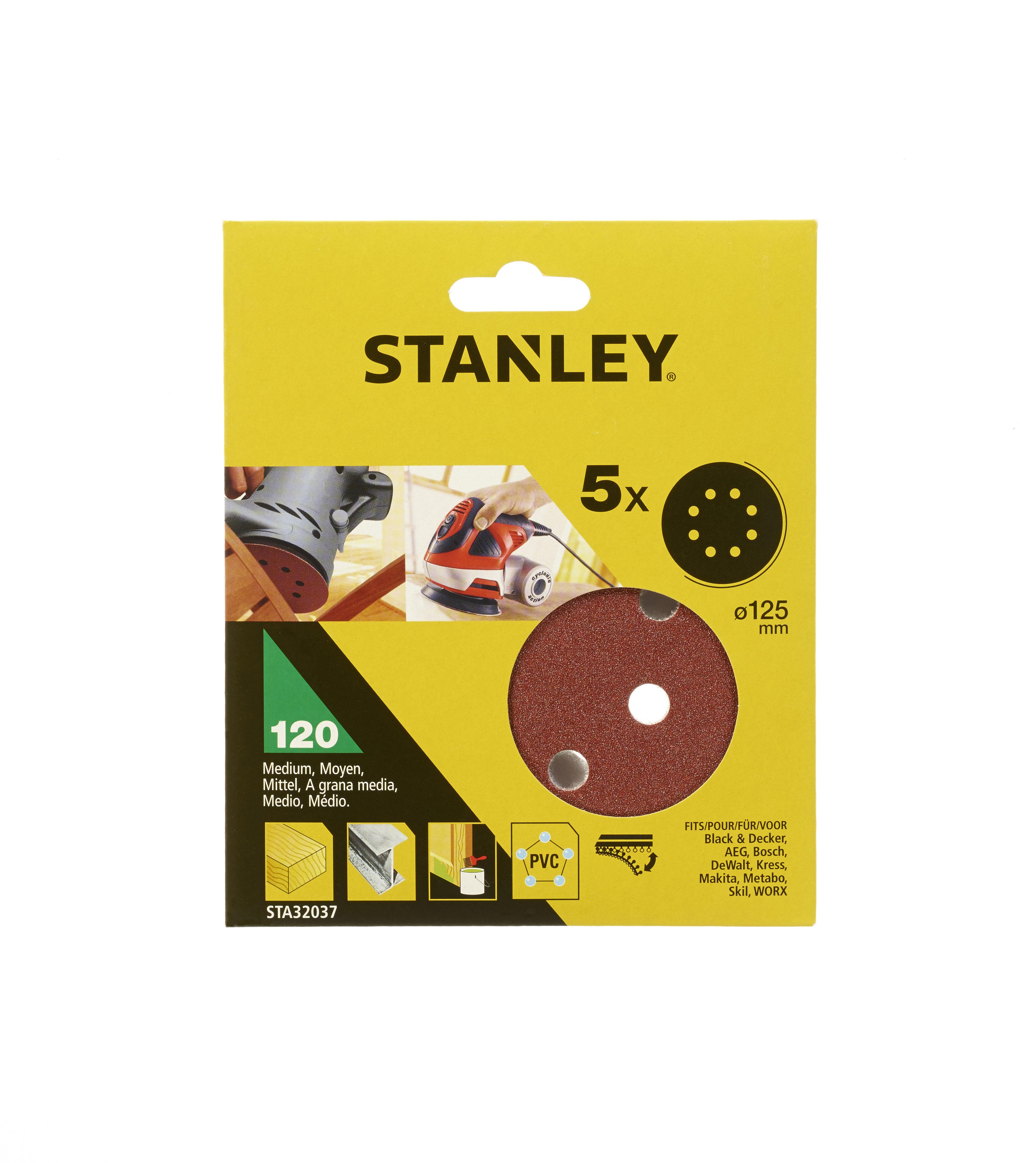 Цеплялка (для ЭШМ) Stanley Sta32037-xj цеплялка для эшм hammer flex 125 мм 8 отв р 120 5шт