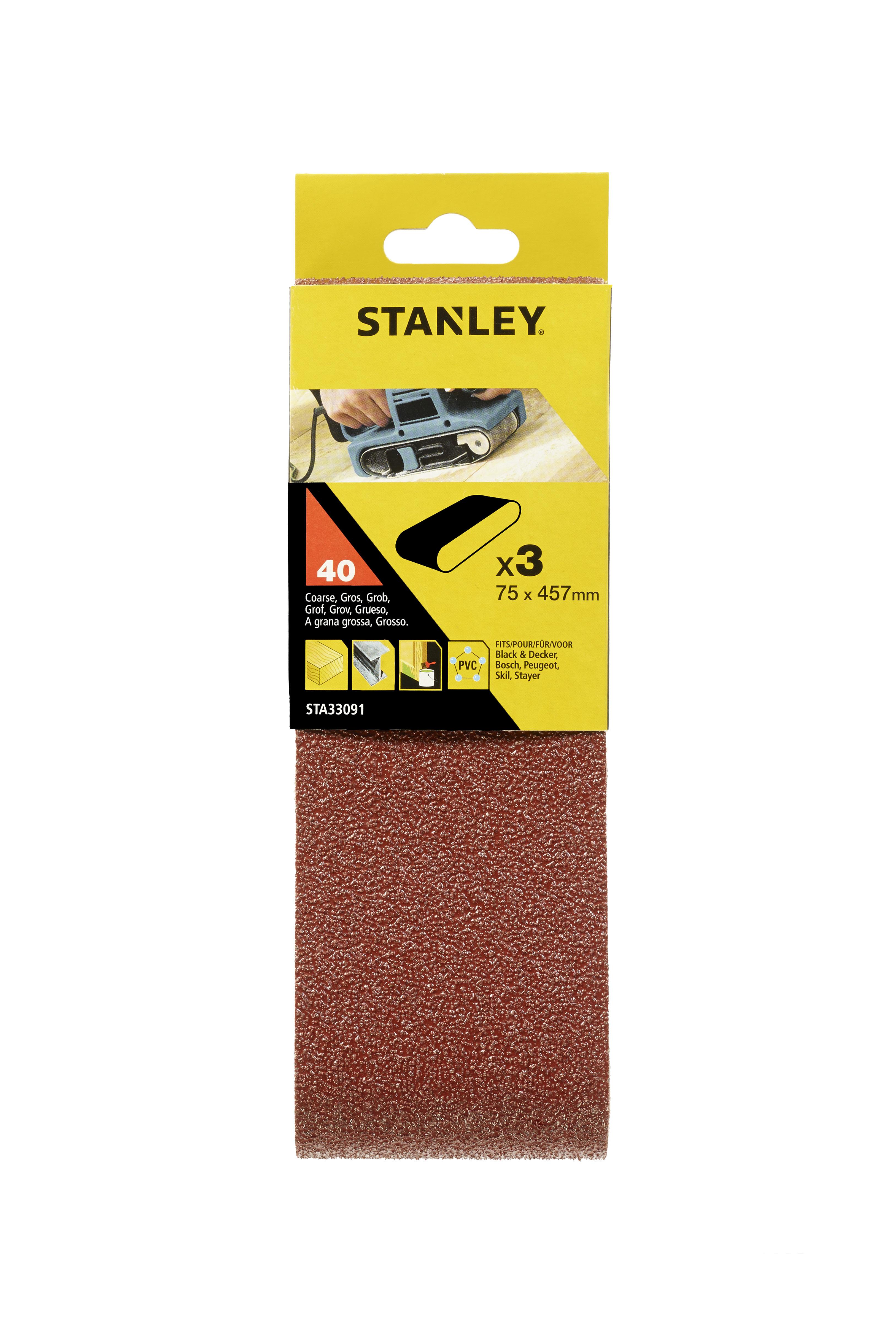 Купить Лента шлиф. бесконечная Stanley 75х457мм p40