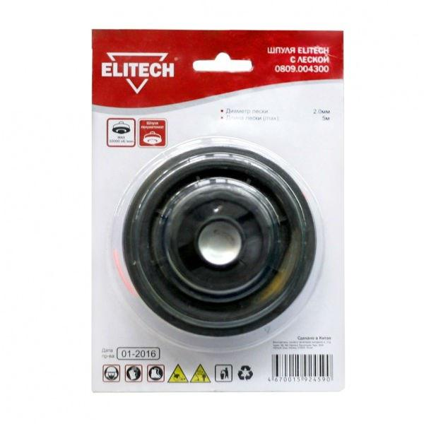 Режущая головка для кос Elitech 809,0043 головка для дисковода красноярск