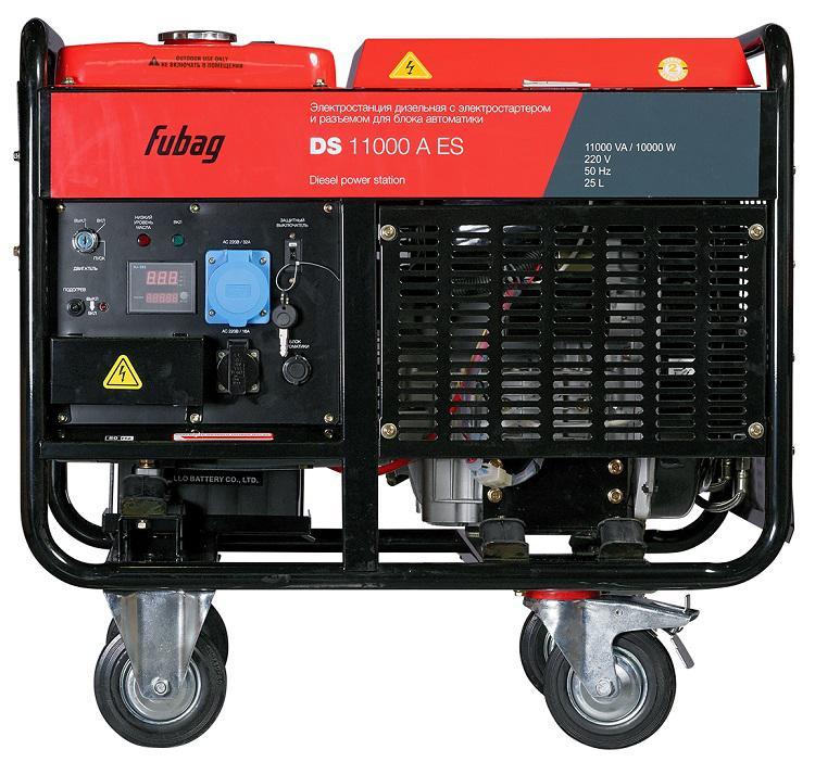 Дизельный генератор Fubag Ds 11000a es автоматика fubag ds 9500 startmaster
