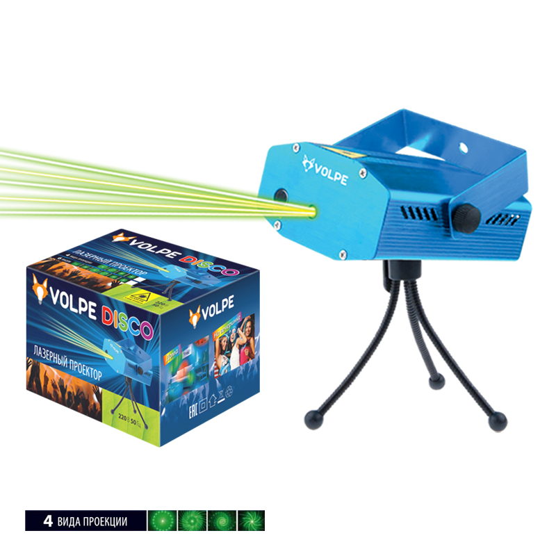 Световая система Volpe Udl-q350 4p/g blue