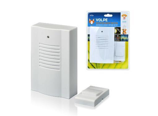 Звонок VOLPE UDB-Q023 W-R1T1-16S-30M-WH