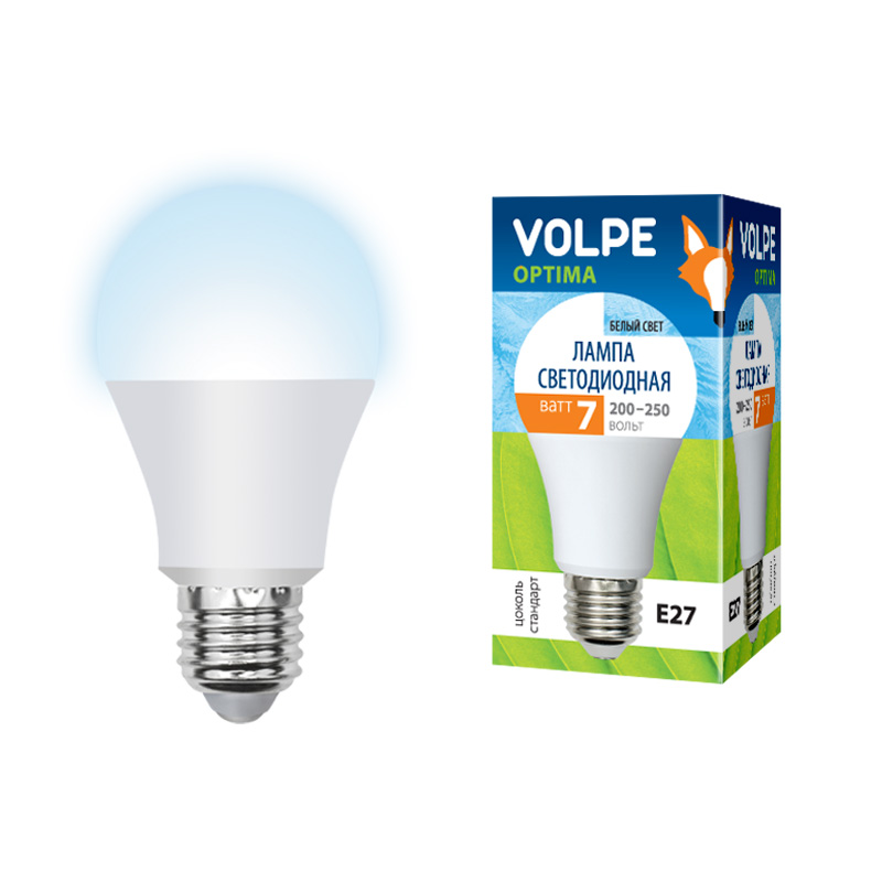 Лампа светодиодная Volpe Led-a60-7w/nw/e27/fr/o skyrc d100 2 100w ac dc dual balance charger 10a charge 5a discharge nimh lipo battery charger twin channel charge