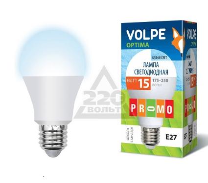 Лампа светодиодная VOLPE LED-A65-15W/NW/E27/FR/O
