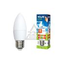Лампа светодиодная VOLPE LED-C37-6W/NW/E27/FR/O