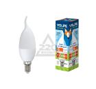 Лампа светодиодная VOLPE LED-CW37-6W/WW/E14/FR/O