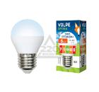 Лампа светодиодная VOLPE LED-G45-6W/DW/E27/FR/O