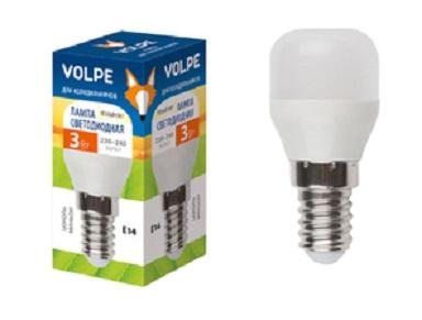 Лампа светодиодная Volpe Led-y27-3w/ww/e14/fr/z