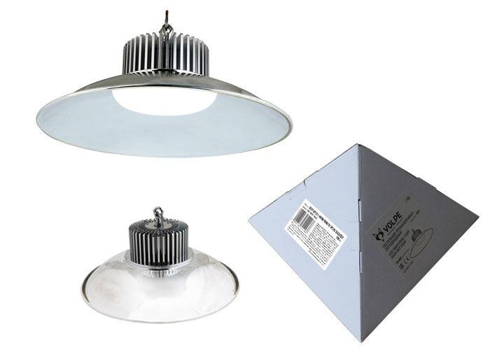 Светильник для производственных помещений Volpe Uly-q721 70w/nw/d ip20 silver подвесной светодиодный светильник ul 00001902 volpe uly q722 50w dw d