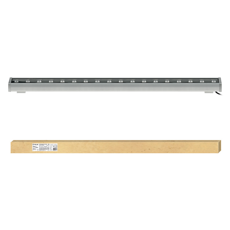 Прожектор светодиодный Volpe Volpe ulf-q552 18w/nw ip65 silver багет decomaster ренессанс цвет 552 61х26х2900 мм 808 552
