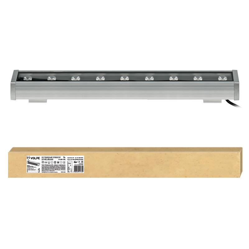 Прожектор светодиодный Volpe Ulf-q552 9w/nw ip65 silver плинтус decomaster античное золото цвет 552 76х76х2400 мм 154 552