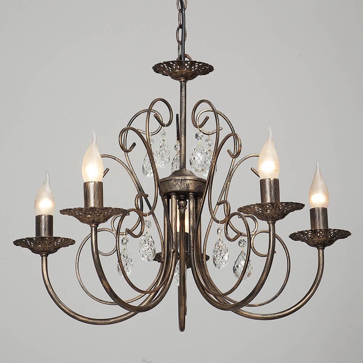 Люстра Vitaluce V1652/5 lucesolara люстра lucesolara 8001 5s цоколь е14 40w gold cream металл стекло 5 ламп