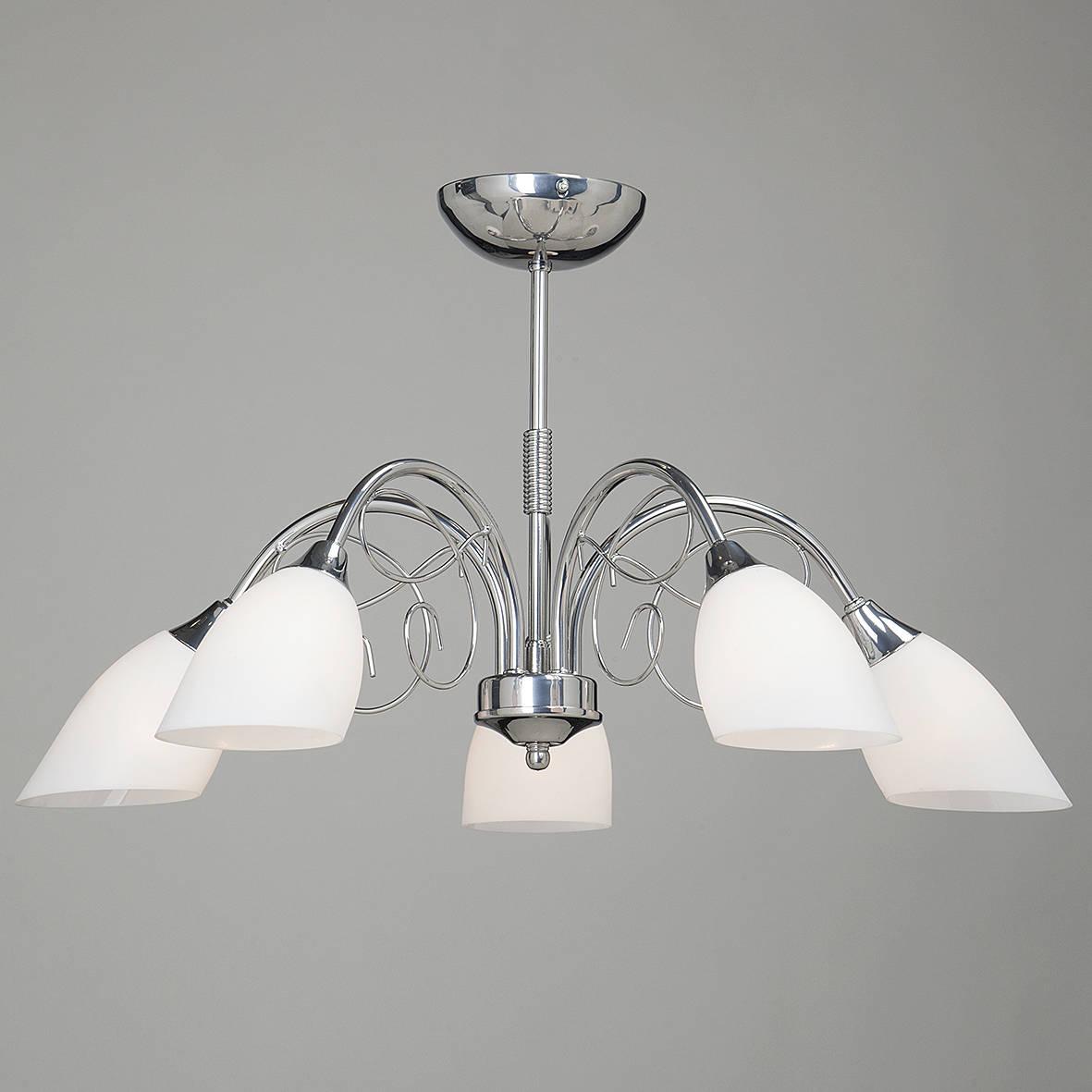 Люстра Vitaluce V3580/5pl люстра v1453 5pl 5х60вт е14 металл стекло vitaluce