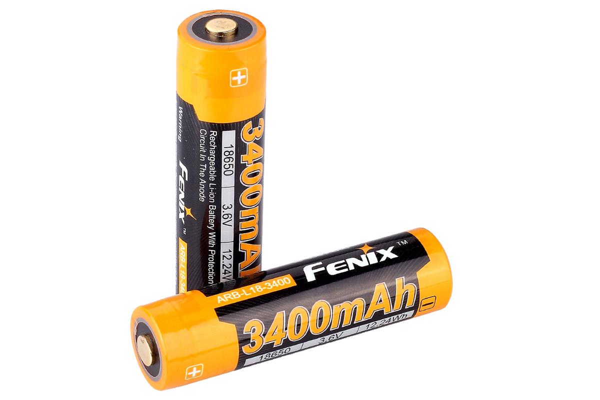 цена на Аккумулятор Fenix Arb-l18-3400