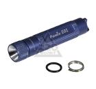 Фонарь FENIX E01 голубой с батарейкой