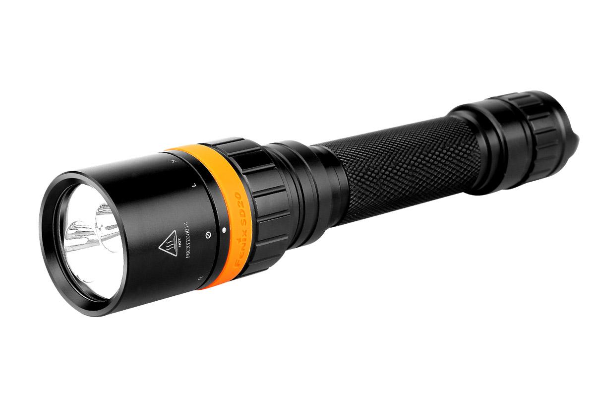 Фонарь Fenix Sd20 ручной фонарик fenix e21 aa r4 led 170
