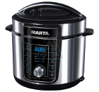 Мультиварка MARTA MT-4320 черный жемчуг