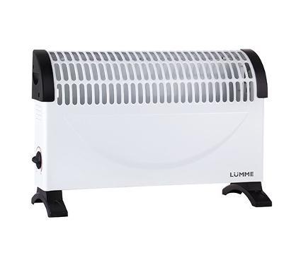 Конвектор LUMME LU-604 белый/черный