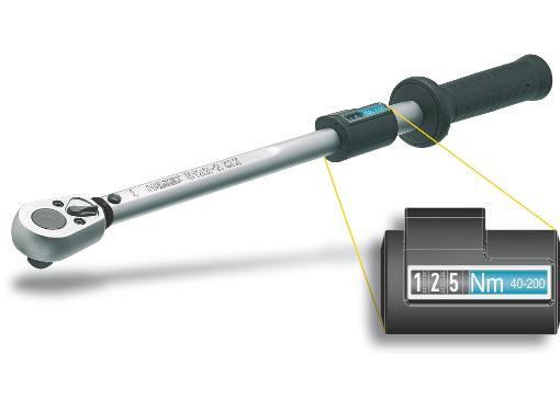 Динамометрический ключ HAZET 5123-2CLT