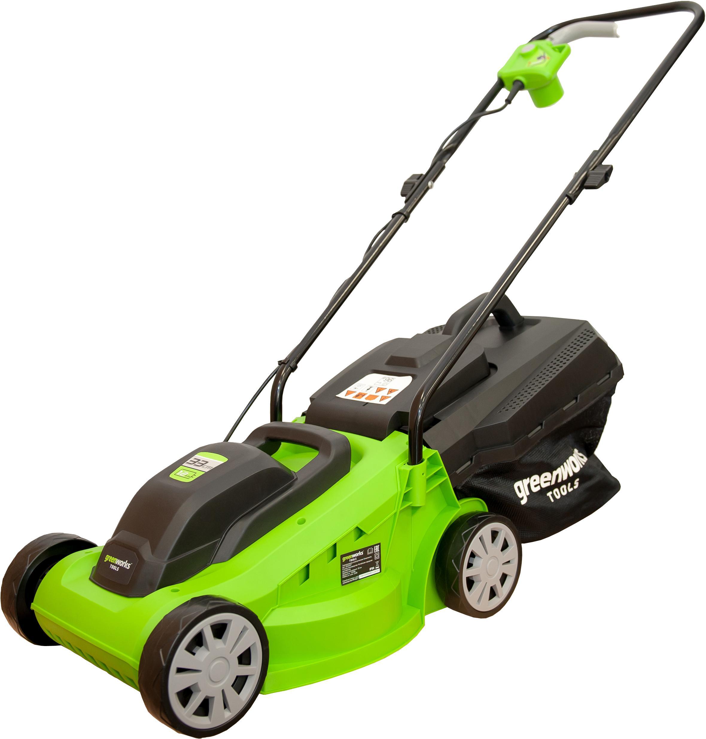 Газонокосилка Greenworks Glm1232 (2502207)