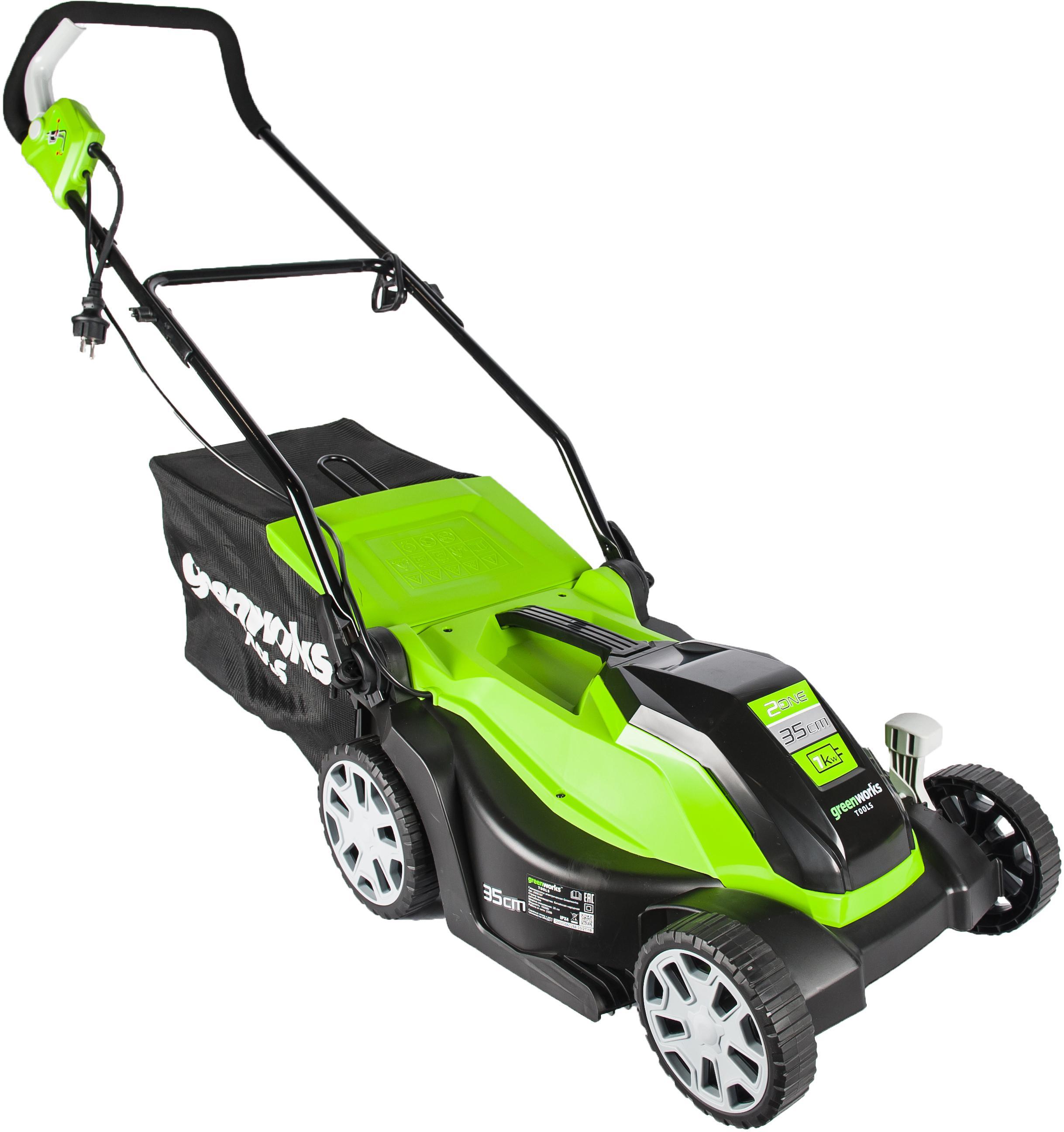 Газонокосилка Greenworks Glm1035 (2505107)