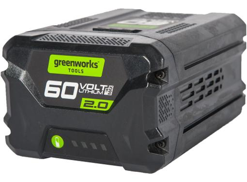 Аккумулятор GREENWORKS 60В 2 Ач Li-Ion G60B2 (2918307)