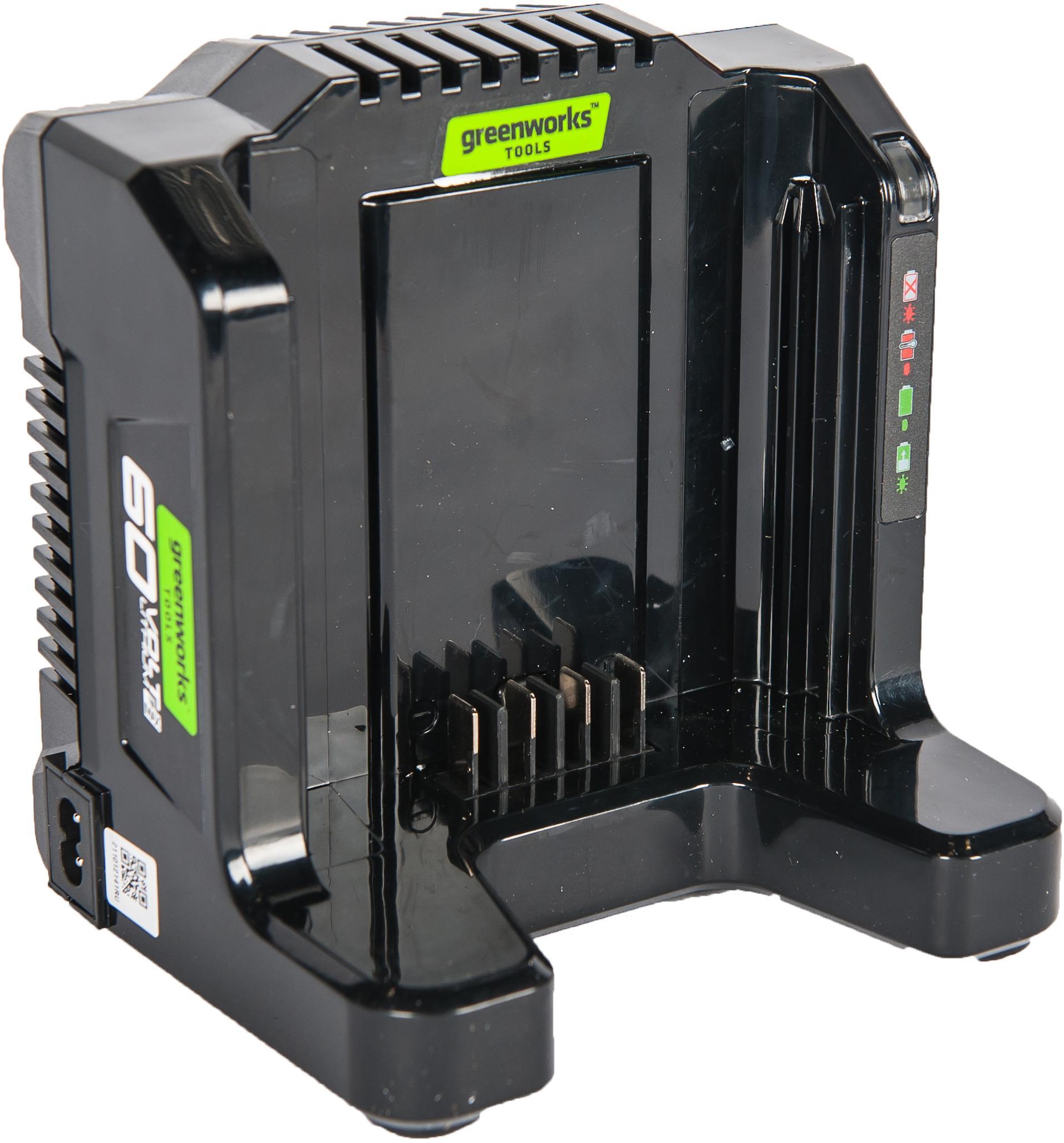 Зарядное устройство Greenworks G60uc (2918507) БЕЗ АККУМ зарядное