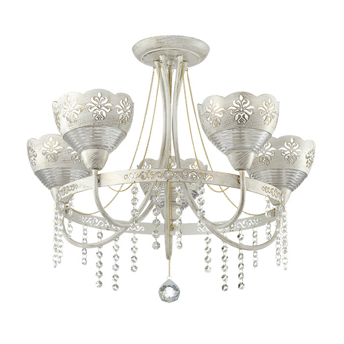 Люстра Odeon light 3141/5c потолочный светильник odeon light lotte 2751 5c