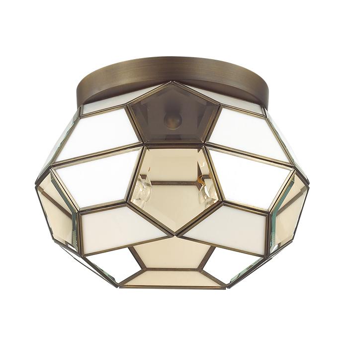 Светильник потолочный Odeon light 3295/2c odeon light светильник потолочный salona 3xe14x40 вт античная бронза fsolvkq