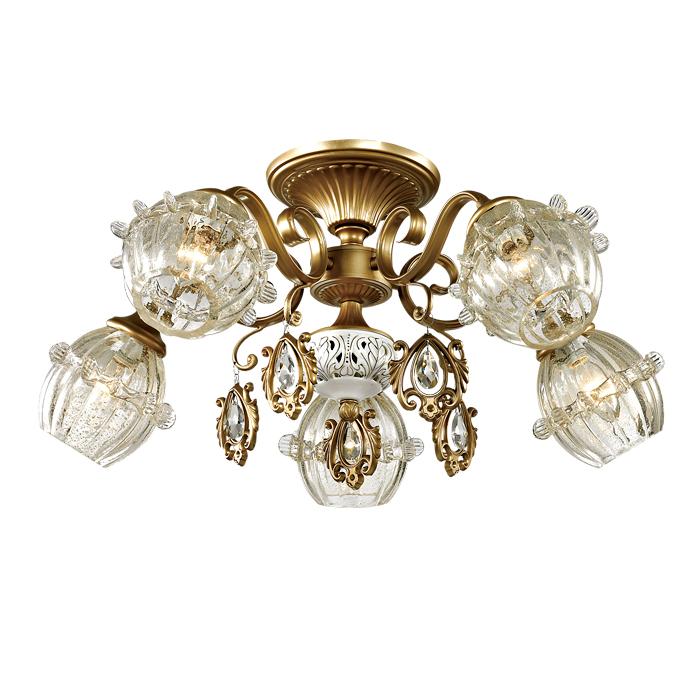 Люстра Odeon light 2887/5c потолочный светильник odeon light lotte 2751 5c