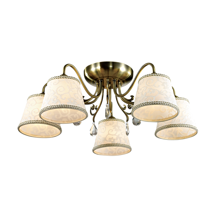 Люстра Lumion 2915/5c lucesolara люстра lucesolara 8001 5s цоколь е14 40w gold cream металл стекло 5 ламп