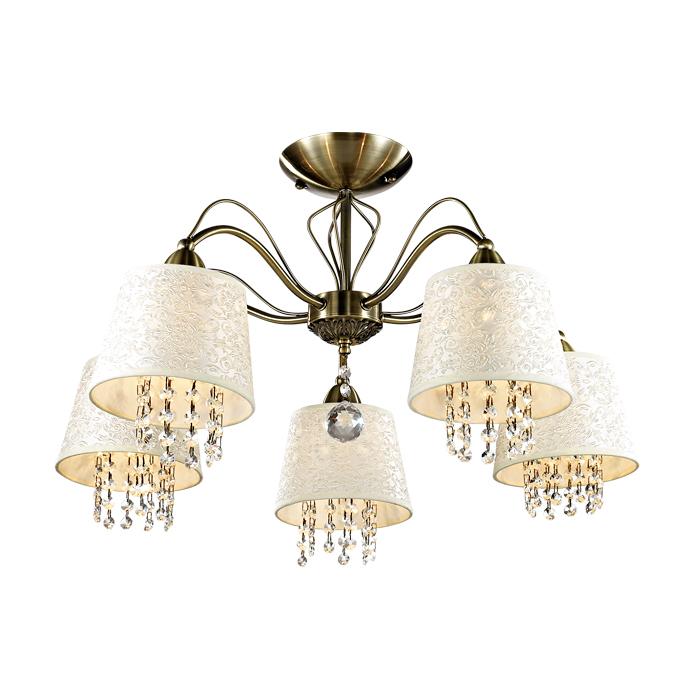 Люстра Odeon light 2916/5c потолочный светильник odeon light lotte 2751 5c