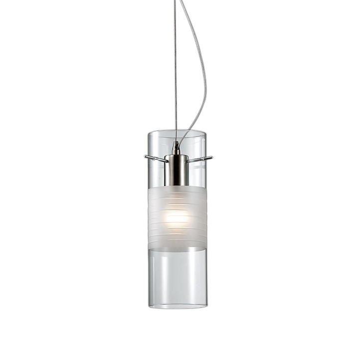Светильник подвесной Odeon light 2738/1 odeon light подвес odeon light marza 1 плафон хром белый с прозрачным 2738 1