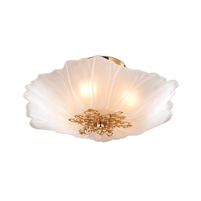 Светильник настенно-потолочный Odeon light 2678/4c светильник настенно потолочный odeon light 2677 6c odl14 427 g9 6 40w 220v palmira золото белый