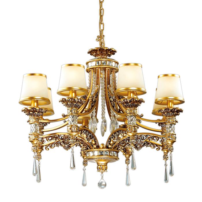 Люстра Odeon light 2803/8 люстра мишель 5xe14x60 вт металл стекло цвет золото