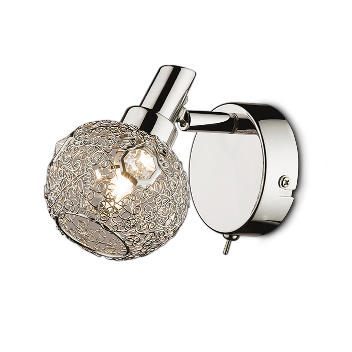 Светильник настенный Odeon light 2209/1w настенный светильник odeon light lemo арт 2743 4w