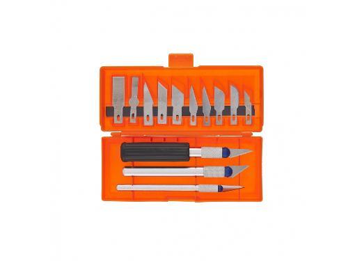 Набор ножей по дереву SPARTA 246165 для точных работ 13 шт