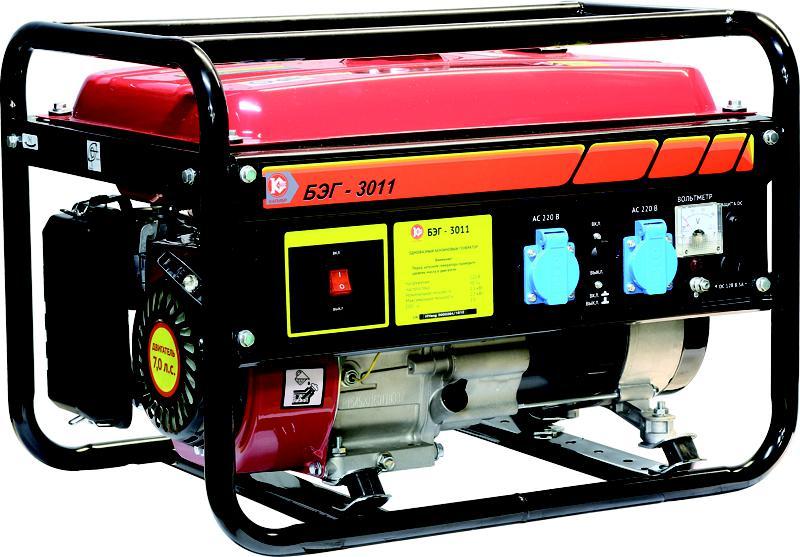 Бензиновый генератор КАЛИБР БЭГ-3011 генератор бензиновый patriot srge 3500