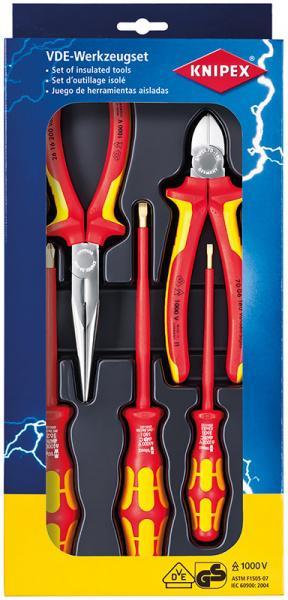 Набор инструментов Knipex Kn-002013 набор инструментов knipex универсальный 6 предметов