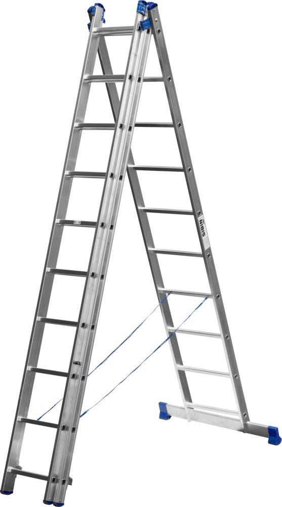 Лестница СИБИН 38833-10 лестница новая высота приставная 10 ступеней