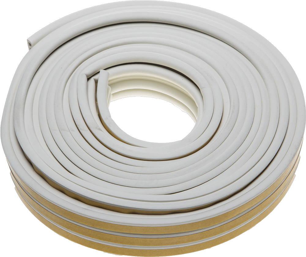 Уплотнитель ЗУБР 40922-016 уплотнитель самоклеящийся ultima профиль e цвет белый 12 м